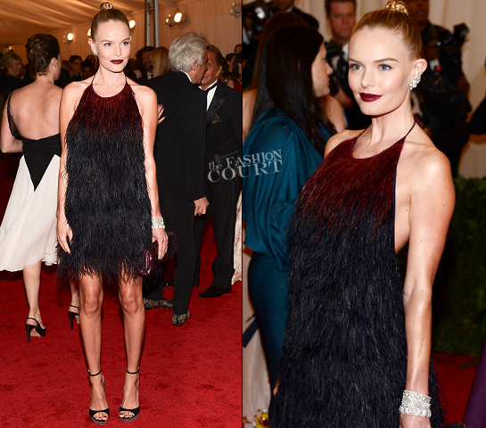 Kate Bosworth in Prada | 2012 MET Gala
