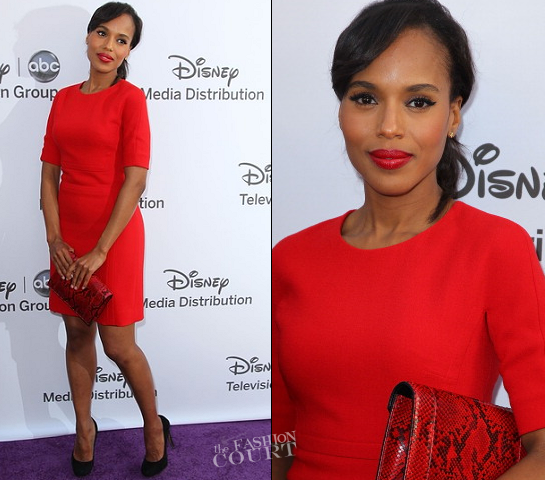 Kerry Washington in Michael Kors | Disney Media Networks International Upfronts