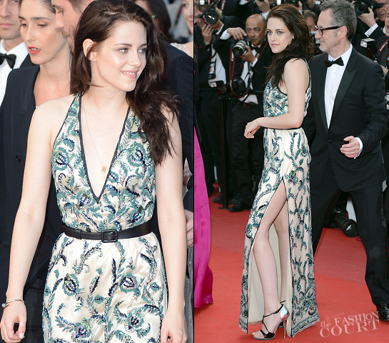 risten Stewart in Balenciaga | 2012 Cannes Film Festival - 'On The Road' Premiere