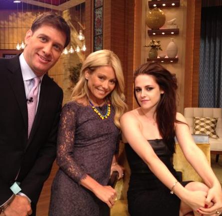 Kristen Stewart in Chanel | 'LIVE! with Kelly'