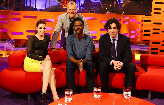 "Kristen Stewart in Jason Wu | ""The Graham Norton Show"""