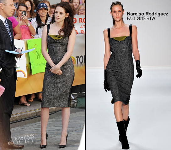 Kristen Stewart in Narciso Rodriguez | NBC's The 'Today' Show