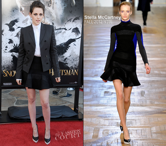 Kristen Stewart in Stella McCartney | 'Snow White and the Huntsman' LA Screening