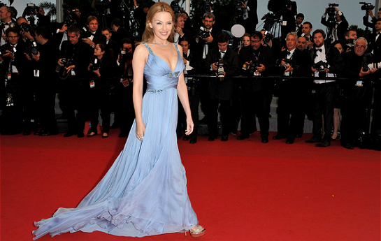 Kylie Minogue in Roberto Cavalli | 2012 Cannes Film Festival Closing Ceremony & 'Therese Desqueyroux' Premiere