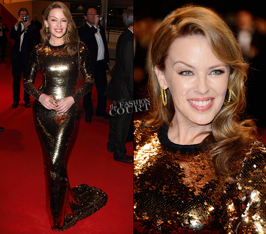 Kylie Minogue in Dolce & Gabbana | 'Holy Motors' Premiere - 2012 Cannes Film Festival