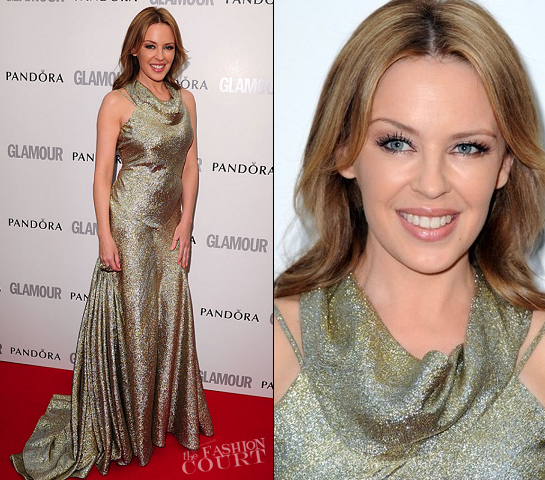 Kylie Minogue in Stella McCartney | Glamour Women of the Year Awards 2012