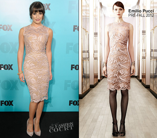 Lea Michele in Emilio Pucci | FOX 2012 Programming Presentation Post-Show Party