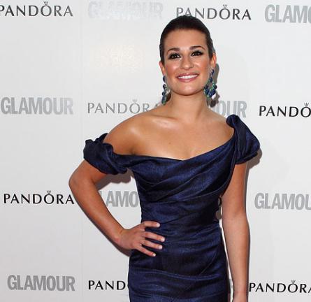 Lea Michele in Zac Posen   Glamour Women of the Year Awards 2012