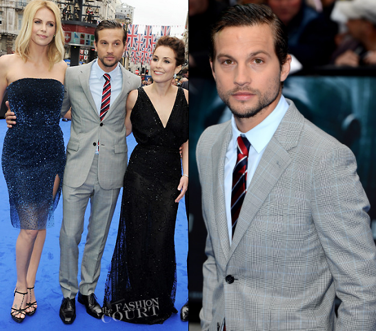 Logan Marshall Green in Balenciaga | 'Prometheus' London Premiere