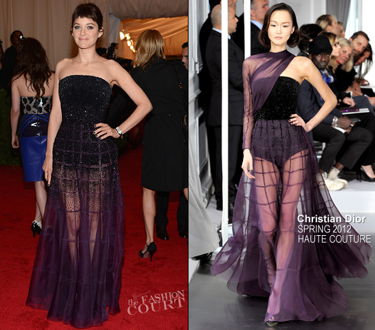 Marion Cotillard in Christian Dior Couture | 2012 MET Gala