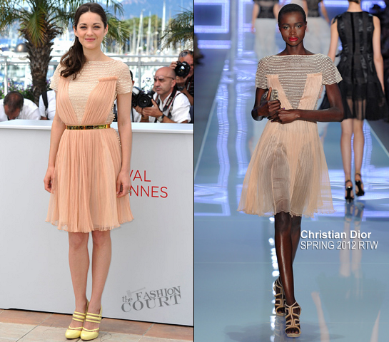 Marion Cotillard in Christian Dior | 2012 Cannes Film Festival - 'De Rouilles Et D'O' Photocall