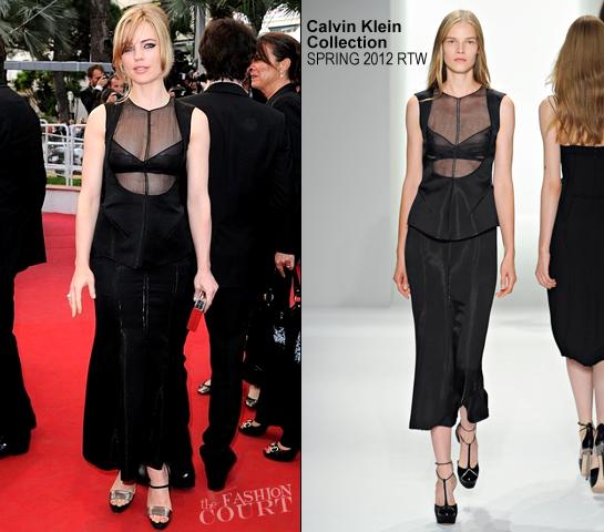 Melissa George in Calvin Klein Collection | 2012 Cannes Film Festival - 'De Rouille et D'os' Premiere