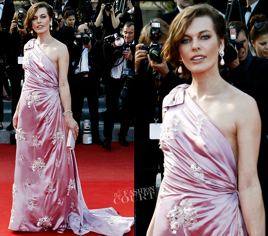 Milla Jovovich in Prada | 'On The Road' Premiere - 2012 Cannes Film Festival