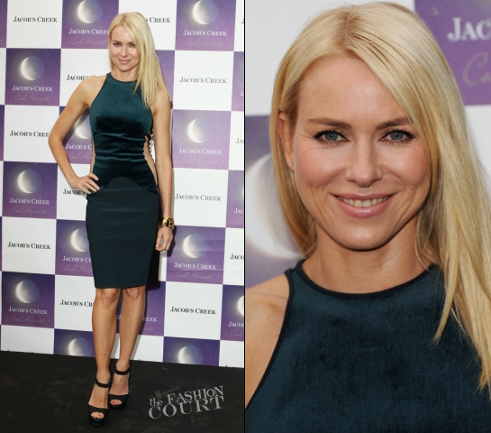Naomi Watts in Stella McCartney | Jacob's Creek: Cool Harvest - Launch Party