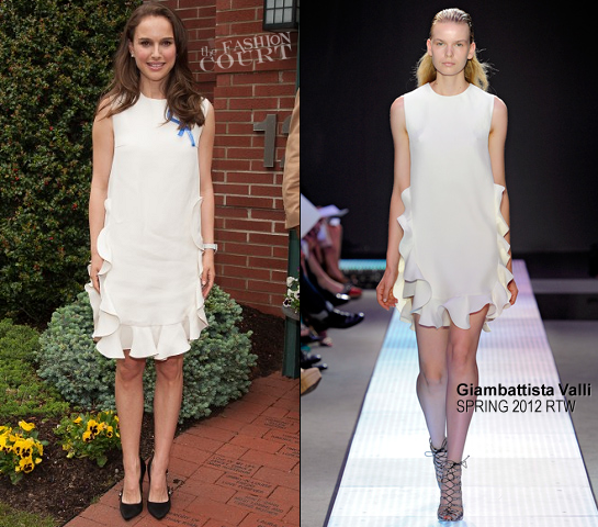 Natalie Portman in Giambattista Valli | 10th Anniversary of the Audrey Hepburn Children's House