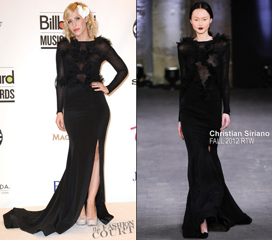 Natasha Bedingfield in Christian Siriano | 2012 Billboard Music Awards