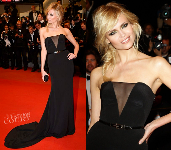 Natasha Poly in Emilio Pucci | 'Holy Motors' Premiere - 2012 Cannes Film Festival