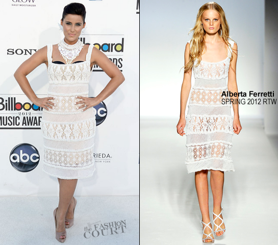 Nelly Furtado in Alberta Ferretti | 2012 Billboard Music Awards