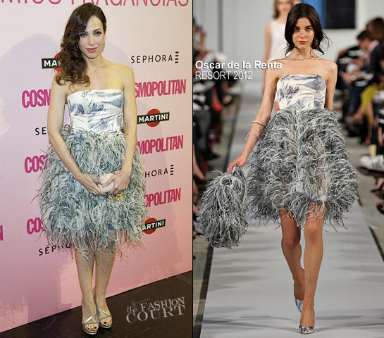 Nerea Garmendia in Oscar de la Renta | Cosmopolitan Fragrances Awards 2012