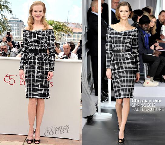 Nicole Kidman in Christian Dior Couture | 'Hemingway & Gellhorn' Photocall - 2012 Cannes Film Festival