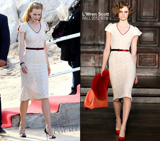 Nicole Kidman in L'Wren Scott | 'Le Grand Journal' - 2012 Cannes Film Festival