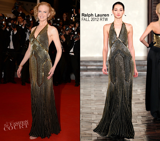 Nicole Kidman in Ralph Lauren Collection | 'Hemingway & Gellhorn' Premiere - 2012 Cannes Film Festival
