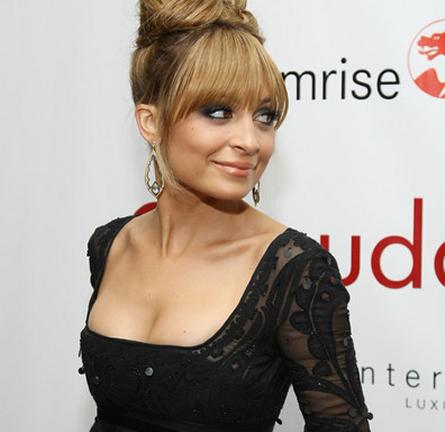 Nicole Richie in Emilio Pucci | 2012 Fifi Awards