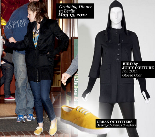 Kristen Stewart Is A Casual Jetsetter in Balenciaga, Current/Elliott, BIRD by Juicy Couture & More!