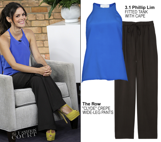 Rachel Bilson in 3.1 Phillip Lim & The Row | 'The Marilyn Denis Show'