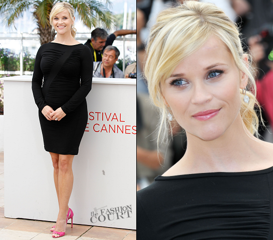 Reese Witherspoon in Versace | 'Mud' Photocall - 2012 Cannes Film Festival