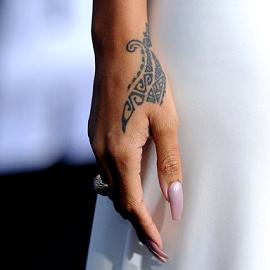 Rihanna in Adam Selman | 'Battleship' LA Premiere