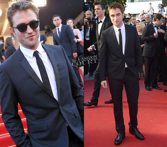 Robert Pattinson in Dior Homme | 'On The Road' Premiere - 2012 Cannes Film Festival