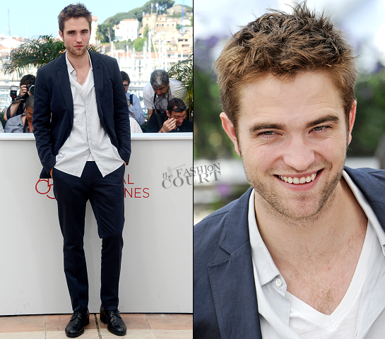 Robert Pattinson in Salvatore Ferragamo | 'Cosmopolis' Photocall - 2012 Cannes Film Festival