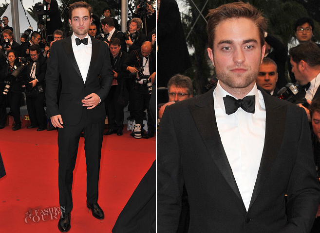 Robert Pattinson in Gucci | 'Cosmopolis' Premiere - 2012 Cannes Film Festival