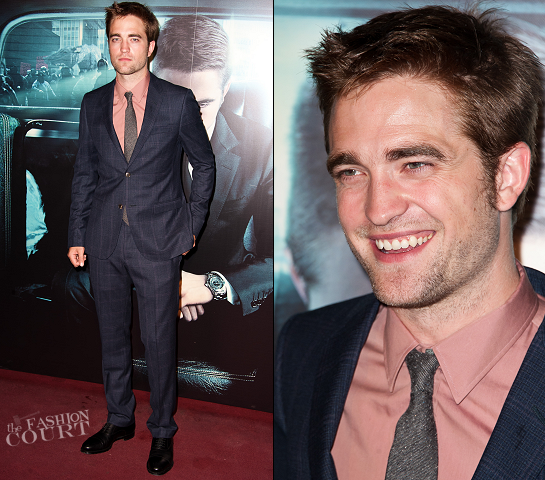 Robert Pattinson in Gucci | 'Cosmopolis' Paris Premiere