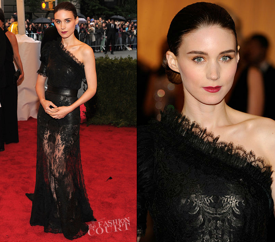 Rooney Mara in Givenchy Couture | 2012 MET Gala