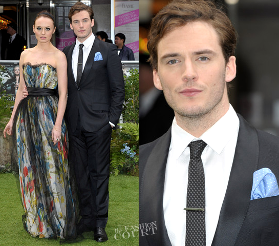 Sam Claflin in Louis Vuitton | 'Snow White and the Huntsman' London Premiere