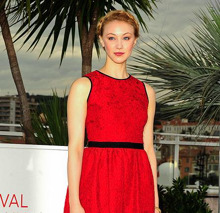 Sarah Gadon in Jason Wu | 'Antiviral' Photocall - 2012 Cannes Film Festival