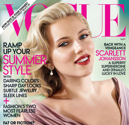 Cover Girl: Scarlett Johansson Goes Retro Hollywood for VOGUE!