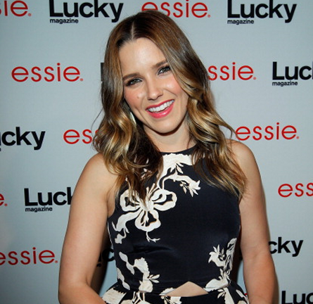 Sophia Bush in Ellery | Lucky Magazine & Essie Celebrate June Cover
