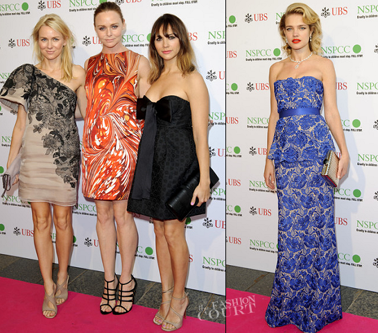 The Stars Get Dressed Up in Stella McCartney for the NSPCC Pop Art Ball!
