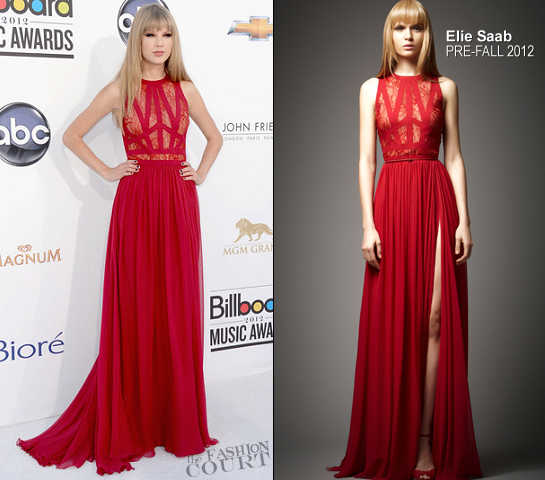 Taylor Swift in Elie Saab | 2012 Billboard Music Awards