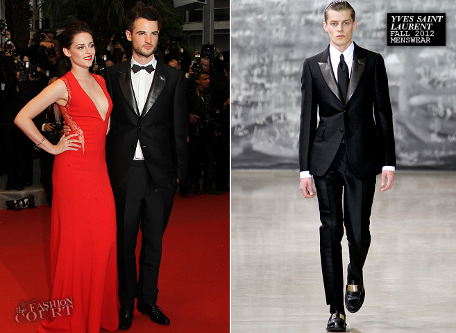 Tom Sturridge in Yves Saint Laurent | 'Cosmopolis' Premiere - 2012 Cannes Film Festival