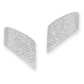 Vhernier Vague Diamond Earrings