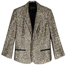 Zadig & Voltaire VICHY Sequin Jacket