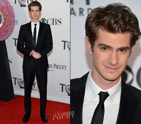 Andrew Garfield in Louis Vuitton | 2012 Tony Awards