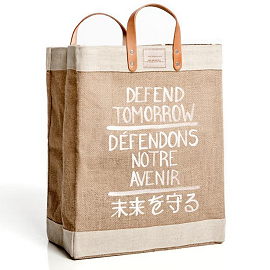 APOLIS Defend Tomorrow Market Bag