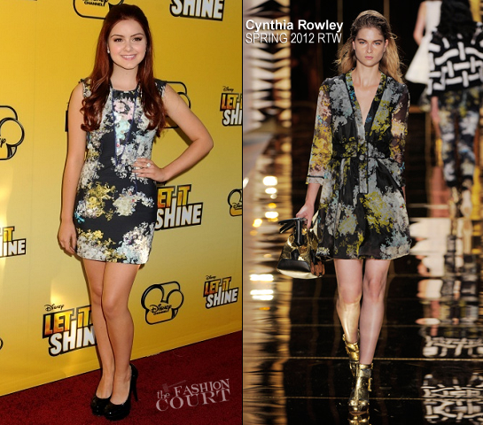 Ariel Winter in Cynthia Rowley | 'Let It Shine' Hollywood Premiere
