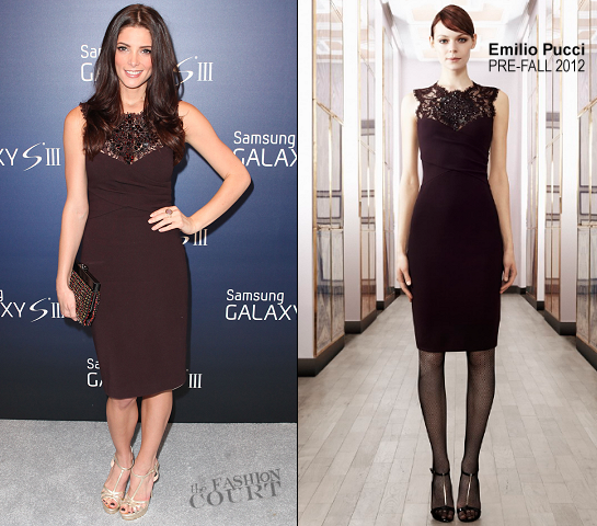 Ashley Greene in Emilio Pucci | Samsung Galaxy III Launch