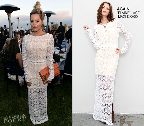 Ashley Tisdale in AGAIN | Chrysalis Butterfly Ball 2012